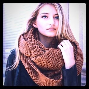 Accessories - New Large Chunky Camel Infinity Scarf